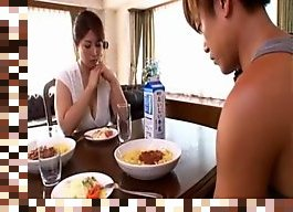 japanese mature mom creampie